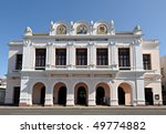 Tomas Terry Teater,Cienfuegos, Cuba - stock photo