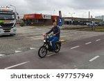 dordrecht   the netherlands  ... | Shutterstock . vector #497757949