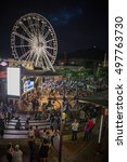 Small photo of South Africa - January 30 2015: Cape town victoria and alfred waterfront