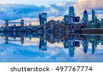 london cityscape and its... | Shutterstock . vector #497767774