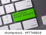 electronic funds transfer...   Shutterstock . vector #497768818