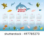 Horizontal Calendar For 2017....
