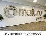 moscow  russia   september 3 ... | Shutterstock . vector #497789008