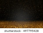 christmas  new year  holiday... | Shutterstock . vector #497795428
