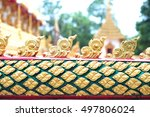 king of nagas serpent great... | Shutterstock . vector #497806024