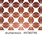 decorative wallpaper design in... | Shutterstock .eps vector #49780798