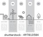 ecology power concept. new... | Shutterstock .eps vector #497813584