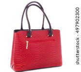 Woman Fashion Red Hand Bag...