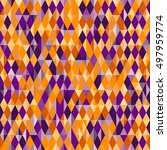 abstract geometric pattern ... | Shutterstock .eps vector #497959774