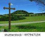 Wayside Cross  Swabian Alb ...