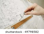 an image of male's hand with... | Shutterstock . vector #49798582