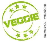 green veggie stamp | Shutterstock .eps vector #498002020