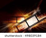 cinema photography vintage... | Shutterstock . vector #498039184