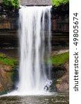minnehaha falls is located in...   Shutterstock . vector #49805674