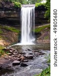 minnehaha falls is located in...   Shutterstock . vector #49805680