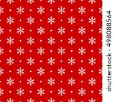 red seamless pattern with... | Shutterstock .eps vector #498088564