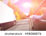 the road in north mountains | Shutterstock . vector #498088876