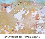 concrete  weathered  worn ... | Shutterstock . vector #498138643