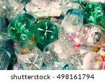 plastic bottles recycle waste... | Shutterstock . vector #498161794