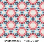 spanish   moroccan design.... | Shutterstock .eps vector #498179104