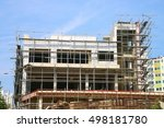 building of new construction | Shutterstock . vector #498181780