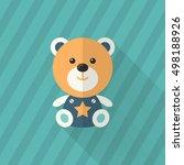 rag doll icon   vector flat... | Shutterstock .eps vector #498188926