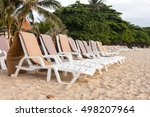 The White Canvas Beach Bed On...