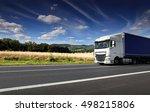 truck on the road | Shutterstock . vector #498215806