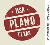 grunge vintage round stamp with ... | Shutterstock .eps vector #498228520