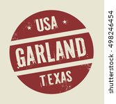 grunge vintage round stamp with ... | Shutterstock .eps vector #498246454