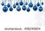new year white background with... | Shutterstock .eps vector #498290854