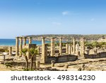 Scenic Landscape With Ruins Of...