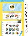 icon set financial vector | Shutterstock .eps vector #498315910