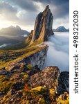 Segla Peak In Norway