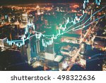 data analyzing in forex... | Shutterstock . vector #498322636