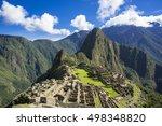 machu picchu ruin | Shutterstock . vector #498348820