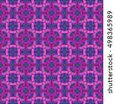 abstract geometric seamless... | Shutterstock . vector #498365989