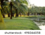 The Idea Is To Blur The Park...
