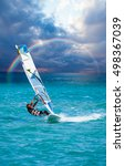 windsurfing | Shutterstock . vector #498367039
