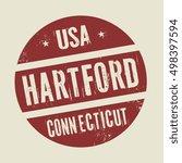 grunge vintage round stamp with ... | Shutterstock .eps vector #498397594