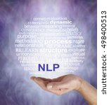neuro linguistic programming ... | Shutterstock . vector #498400513