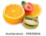 tropical fruits | Shutterstock . vector #49840846