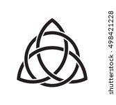 Trinity Knot Or Triquetra....