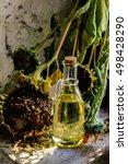 sunflower oil | Shutterstock . vector #498428290