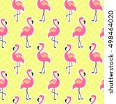beautiful seamless pattern with ... | Shutterstock .eps vector #498464020