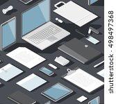 seamless background pattern for ... | Shutterstock .eps vector #498497368