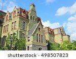 Philadelphia, Pennsylvania (United States) - Pennsylvania State University (Penn State). College Hall building.
