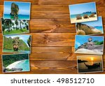 thai travel tourism concept... | Shutterstock . vector #498512710