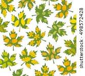 Hand Drawn Set Of Autumn Doodl...