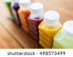 healthy eating  drinks  dieting ... | Shutterstock . vector #498573499